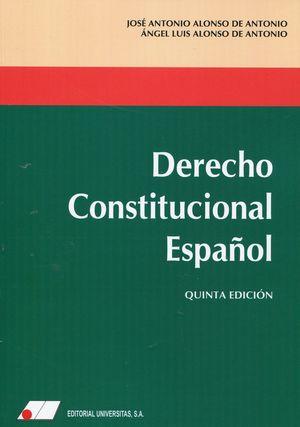 DERECHO CONSTITUCIONAL ESPAÑOL
