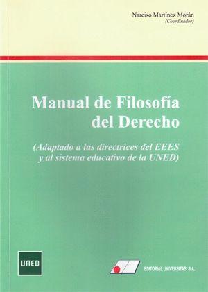 MANUAL DE FILOSOFÍA DEL DERECHO