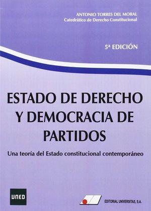 ESTADO DE DERECHO Y DEMOCRACIA DE PARTIDOS