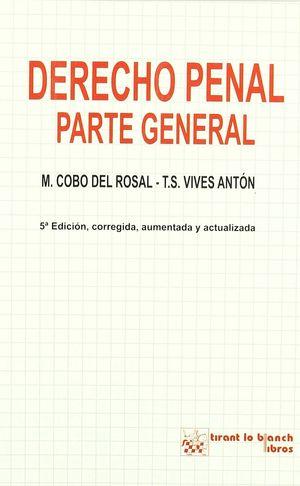DERECHO PENAL PARTE GENERAL 5ªED