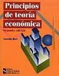 PRINCIPIOS DE TEORÍA ECONÓMICA