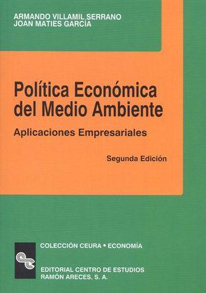 POLITICA ECONOMICA DEL MEDIO AMBIENTE