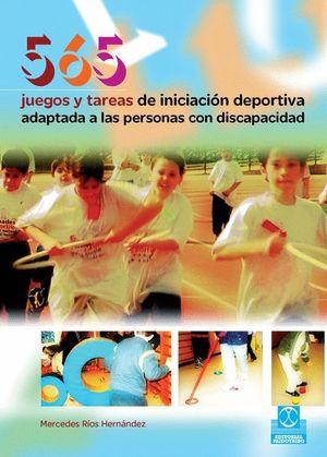 565 JUEGOS Y TAREAS DE INICIACION DEPORTIVA