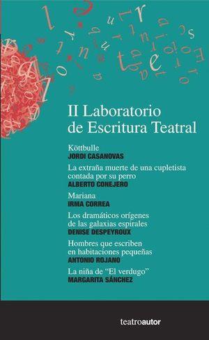 II LABORATORIO DE ESCRITURA TEATRAL