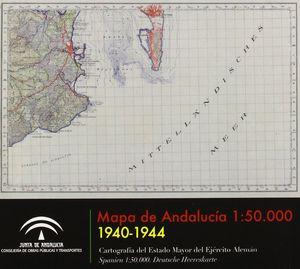 MAPA DE ANDALUCÍA 1:50.000. 1940-1944