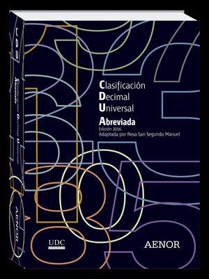 CLASIFICACION DECIMAL UNIVERSAL (CDU) ABREVIADA