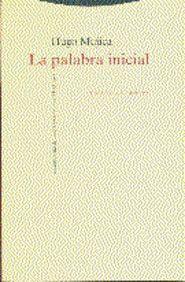 LA PALABRA INICIAL