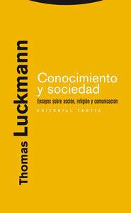 CONOCIMIENTO Y SOCIEDAD
