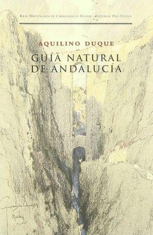 GUIA NATURAL DE ANDALUCIA