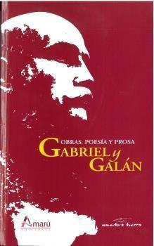 OBRAS POESIA Y PROSA GABRIEL Y GALAN