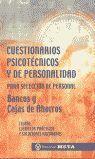 CUESTIONARIOS PSICOTECNICOS Y DE PERSONALIDAD 2017