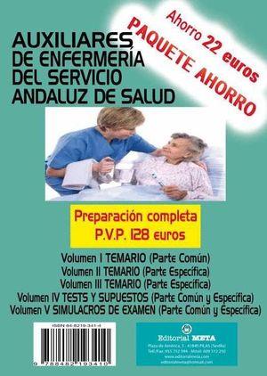 PAQUETE AHORRO AUXILIARES DE ENFERMERIA SAS