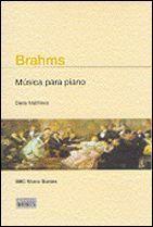 BRAHMS MUSICA PARA PIANO