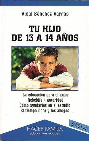 TU HIJO DE 13 A 14 AÑOS