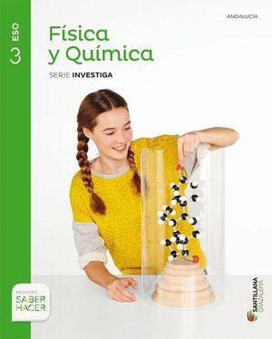 FISICA Y QUIMICA 3ºESO SERIE INVESTIGA SABER HACER