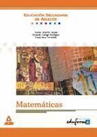 MATEMATICAS EDUCACION SECUNDARIA ADULTOS EDUFORMA
