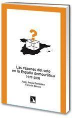 LAS RAZONES DEL VOTO EN LA ESPAÑA DEMOCRATICA 1977-2008