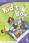 KID'S BOX FOR SPANISH SPEAKERS LEVEL 5 PUPIL'S BOOK