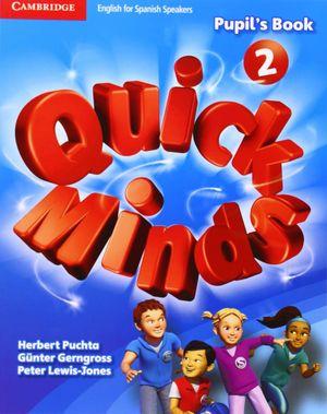 QUICK MINDS 2 PUPIL'S BOOK 2015