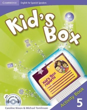 KID'S BOX FOR SPANISH SPEAKERS LEVEL 5 ACTIVITY BOOK WITH CD-ROM AND LANGUAGE PO