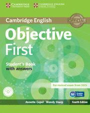 OBJECTIVE FIRST (4TH ED.) WORKBOOK WITH ANSWERS +CD