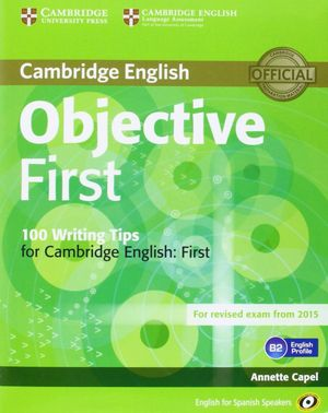 OBJECTIVE FIRST (4TH ED.) STUDENT'S BOOK WITH ANSWERS WITH CD-ROM