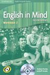 ENGLISH IN MIND FOR SPANISH SPEAKERS LEVEL 2 WORKBOOK WITH AUDIO CD 2ND EDITION