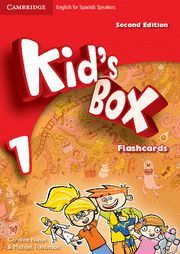 KID'S BOX FOR SPANISH SPEAKERS  LEVEL 1 FLASHCARDS 2ND EDITION