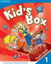 KID'S BOX 1 SPANISH SPEAKERS PUPIL'S BOOK 2ªED. (PACK)