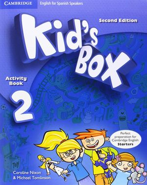 KID'S BOX 2 ACTIVITY BOOK WITH CD-ROM (2ND ED.)