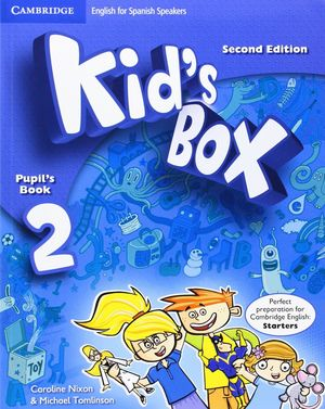 KID'S BOX 2ºEP SPANISH SPEAKERS PUPIL'S BOOK 2ªED. (PACK)