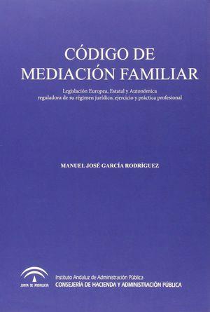CÓDIGO DE MEDIACIÓN FAMILIAR
