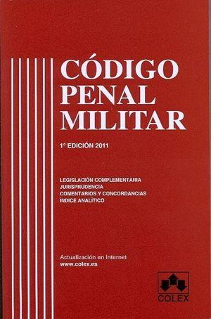 CODIGO PENAL MILITAR 1ª ED.
