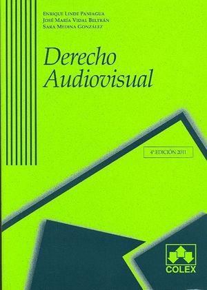 DERECHO AUDIOVISUAL 4ª ED.