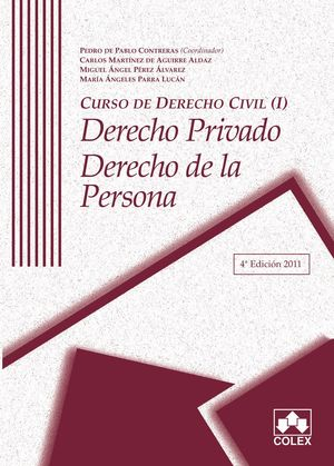 CURSO DE DERECHO CIVIL I 4ª ED.DCHO.PRIV.