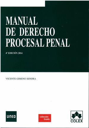 MANUAL DE DERECHO PROCESAL PENAL 2014