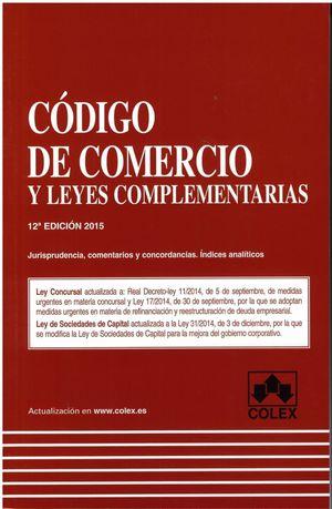 CODIGO DE COMERCIO Y LEG. 12ª ED