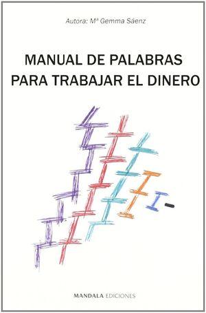 MANUAL DE PALABRAS PARA TRABAJAR EL DINERO