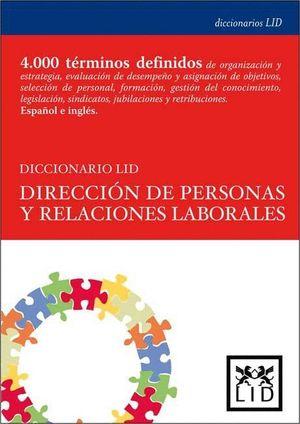 DICCIONARIO LID DIRCIÓN DE PERSONAS Y RELACIONES LABORALES
