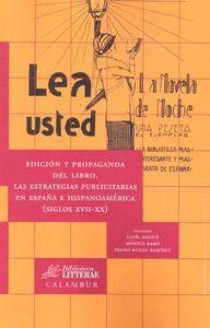 EDICION Y PROPAGANDA DEL LIBRO. LAS ESTRATEGIAS PUBLICITARIAS