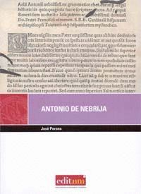 ANTONIO DE NEBRIJA