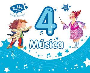 MÚSICA 4 (INCLUYE CD)