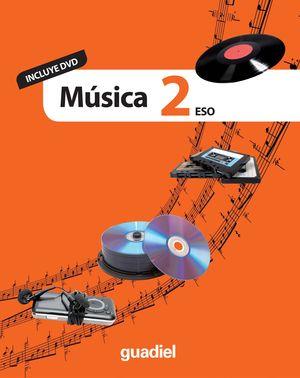 MÚSICA 2 ESO (INCLUYE DVD)