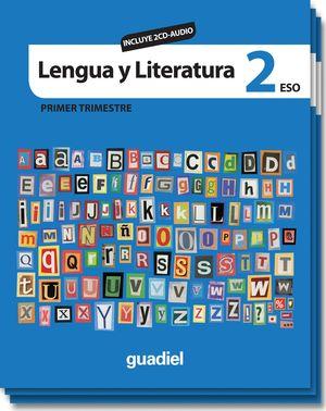 LENGUA Y LITERATURA 2 (INCLUYE CD AUDIO)