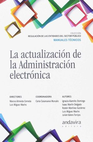 LA ACTUALIZACION DE LA ADMINISTRACION ELECTRONICA