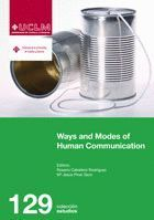 WAYS AND MODES OF HUMAN COMMUNICATION.