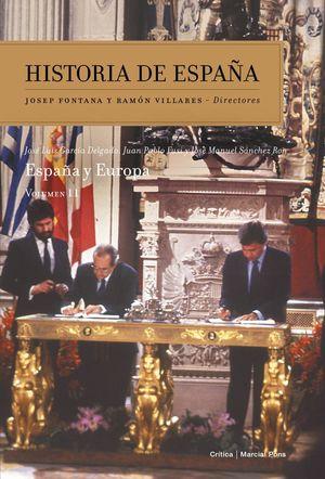 HISTORIA DE ESPAÑA VOL. 11 ESPAÑA Y EUROPA