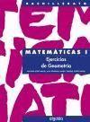 EJERCICIOS DE GEOMETRIA CUADERNOS MATEMATICAS 1 BACHILLERATO
