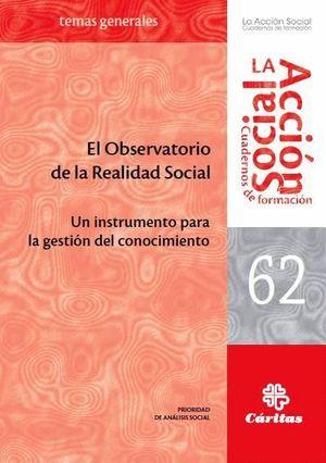EL OBSERVATORIO DE LA REALIDAD SOCIAL