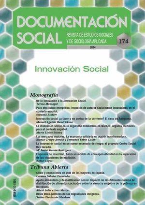 DOCUMENTACION SOCIAL Nº174 2014 REVISTA DE ESTUDIOS SOCIALES